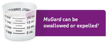 MuGard dose cup